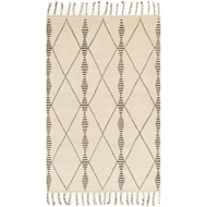 Magnolia Home Tulum Rug by Joanna Gaines - Ivory / Pebble