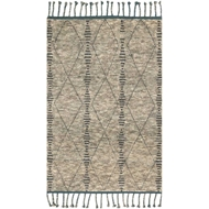 Magnolia Home Tulum Rug by Joanna Gaines - Stone / Blue