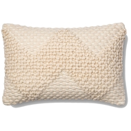 "Magnolia Home by Joanna Gaines 13"" x 21"" Fae Pillow Ivory - P1007"