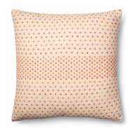 Magnolia Home by Joanna Gaines Coral & Multi Colored Pillow P1000 - Designer Pillow