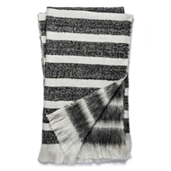 Magnolia Home by Joanna Gaines Duke Black & White Throw Blanket - Designer Pillow