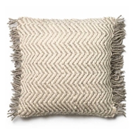 Magnolia Home by Joanna Gaines Grey & Ivory Pillow P0457 - Designer Pillow