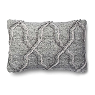"Magnolia Home by Joanna Gaines 13"" x 21"" Passage Pillow Grey - P1014"
