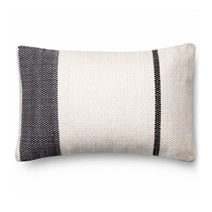 Magnolia Home by Joanna Gaines Navy & White Pillow P1002 - Designer Pillow