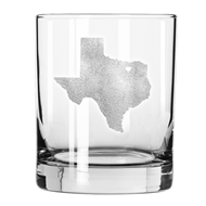 Maple Leaf Lexington Heavy DOF Glass, 12.5oz Set of 4