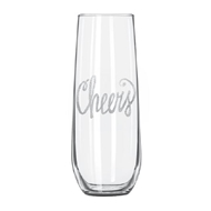 Maple Leaf Stemless Champagne Glass 8.5oz (C/P 4)