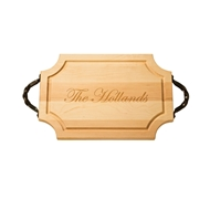 "Maple Leaf 18"" Scalloped Cutting Board - 1812SC"