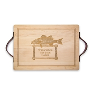 "Maple Leaf 20"" Rectangle Cutting Board - 2014RE"
