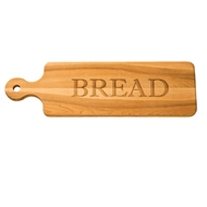 "Maple Leaf 20"" Bread Board"