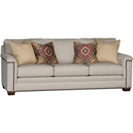 Aries Mineral Upholstered Sofa With Nailheads 1370F10