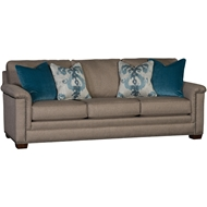 Bonsai Taupe Upholstered Sofa With Nailheads 1370F10