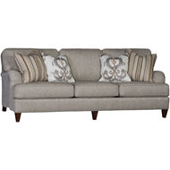 Countess Silver Upholstered Sofa 2120F10