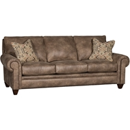 Vagabond Brandy Upholstered Sofa With Nailheads 2840F10