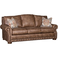 Palance Pueblo Upholstered Sofa With Nailheads 2900F10