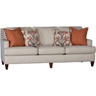 Abaco Haze Upholstered Sofa With Nailheads 3030F10