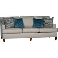 Downton Coast Upholstered Sofa With Nailheads 3030F10