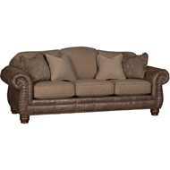 Blakely Bark Upholstered Sofa With Nailheads 3180LF10