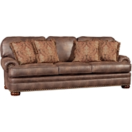 Vagabond Elk Upholstered Sofa with Nailheads 3620F10