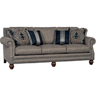 Tuscan Tweed Upholstered Sofa with Nailheads 4300F10