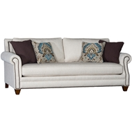 Lake Como Bliss Upholstered Sofa with Nailheads 7240F10