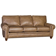 Untouchable Journey Upholstered Sofa with Nailhead finish