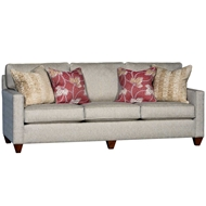 Patmos Brass Upholstered Sofa