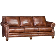 Heirloom Chimera Upholstered Sofa with Nailhead finish