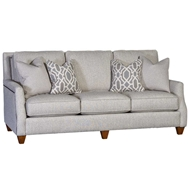 Action Tussah Upholstered Sofa with Nailhead finish