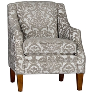 Obion Taupe Upholstered Chair