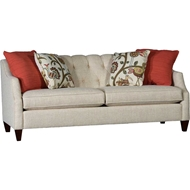 Tuscan Wheat Upholstered Sofa