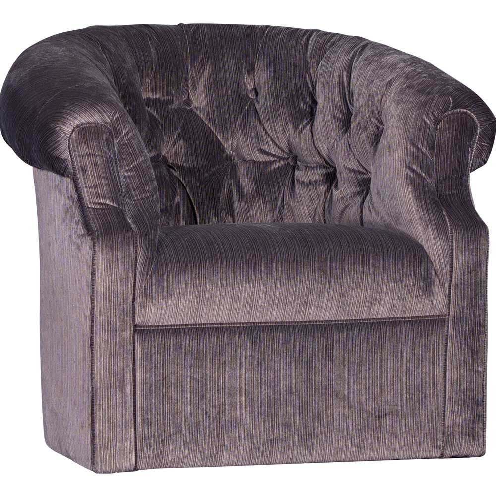 Mayo Furniture Striato Nocturnal Upholstered Swivel