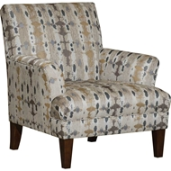 Lokesh Taupe Upholstered Chair