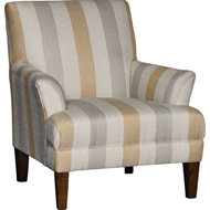 Sego Brass Upholstered Chair