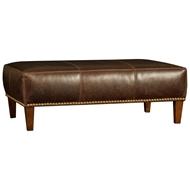 Fargo Chocolate Upholstered Table Ottoman 9150L50