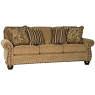 Rogue Classic Upholstered Sofa with Nailhead finish