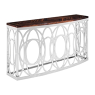 Phillips Scott Home Console Table - Macasar Ebony Cons-TME