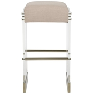 Vanguard Bistro Acrylic Frame Bar Stool