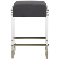 Vanguard Bistro Acrylic Frame Counter Stool