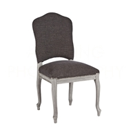 Aidan Gray Home Painted West Dining Chair CH453 SGST - Stonewood Gray & Storm