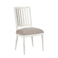 Aidan Gray Home Le Notte Dining Chair CH455 RMCM - Romantique & Cement
