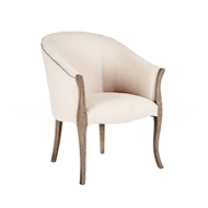 Aidan Gray Home High Point Occasional Chair CH565 NGCL - Nantucket Gray & Cloud