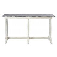 Aidan Gray Home Merlimont Console Table F349 - Distressed White And Gray