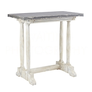 Aidan Gray Home Small Merlimont Console Table F349S - Distressed White And Gray