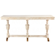 Aidan Gray Home Large Montrouge Console F358L - White Washed