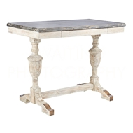 Aidan Gray Home Small Montrouge Console F358S - White Washed And Gray