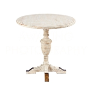Aidan Gray Home Montrouge Round Table F359 - White Washed