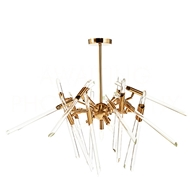 Aidan Gray Home Lighting Themyscira Chandelier - Brass