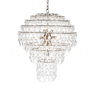 Aidan Gray Home Lighting Jelly Fish Chandlier In Nickel