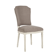 Aidan Gray Home Chelsea Dining Chair - Antique Gray & Cement - Pair