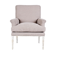 Aidan Gray Home Ella Club Chair - Romantique & Cement